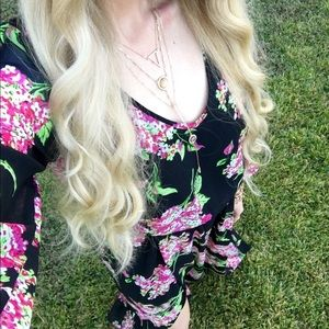 Show Me Your MuMu Dresses - Show Me Your MuMu Hydrangea Jocelyn Maxi Dress S